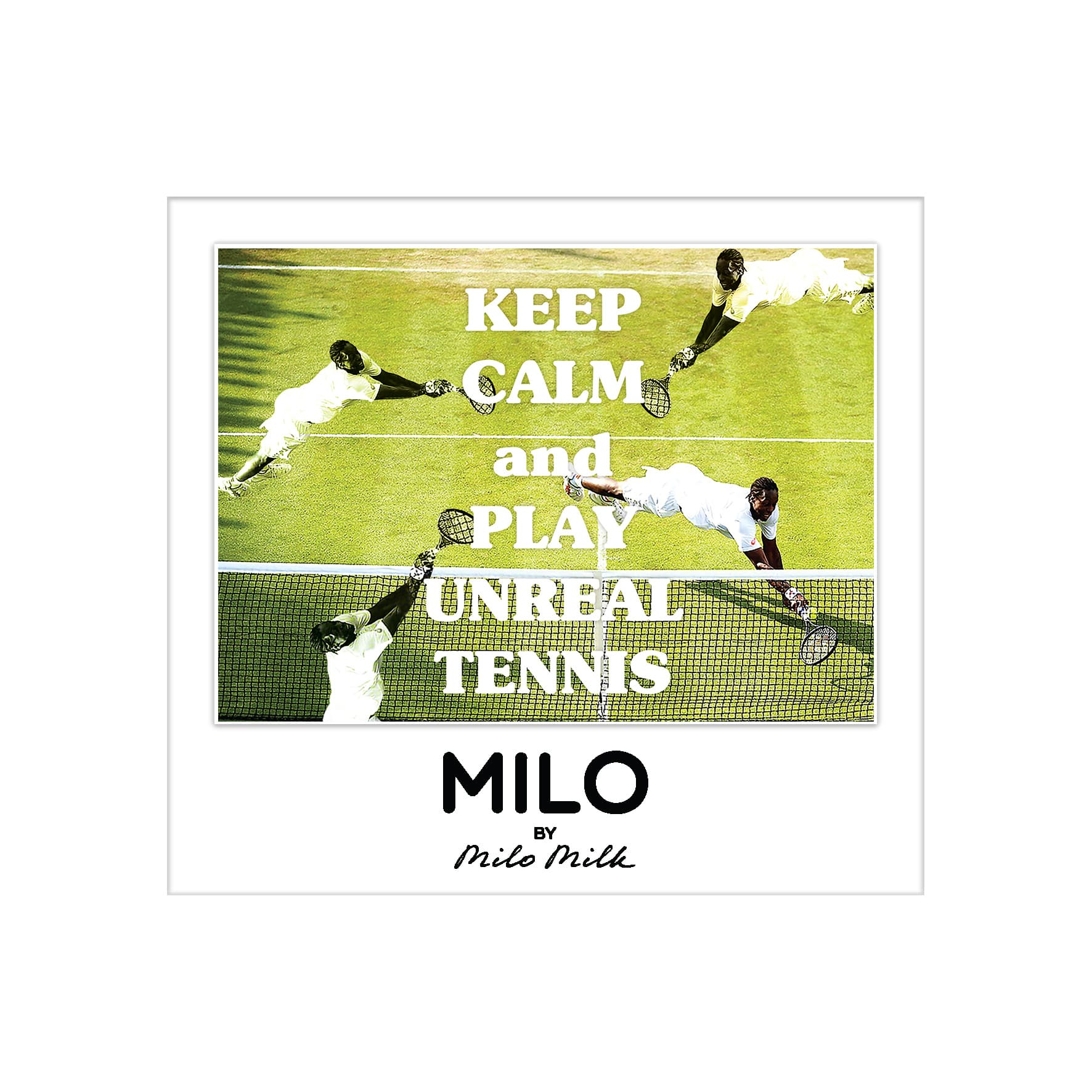 Магнит KEEP CALM AND PLAY UNREAL TENNIS