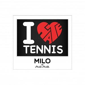 Магнит  I LOVE AND HATE TENNIS