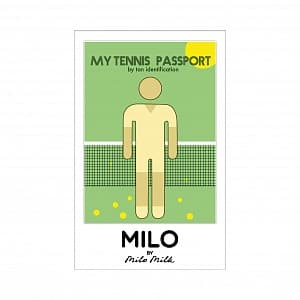 Магнит MY TENNIS PASSPORT