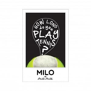 Магнит HOW LONG DO YOU PLAY TENNIS